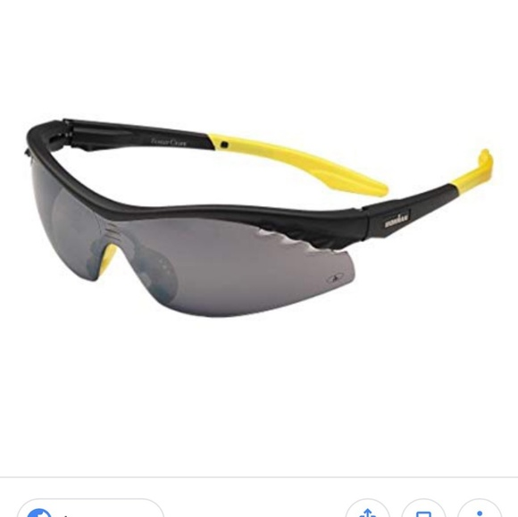 ccc39cdcd4ed Foster Grant Accessories | Ironman Black And Yellow Sunglasses ...